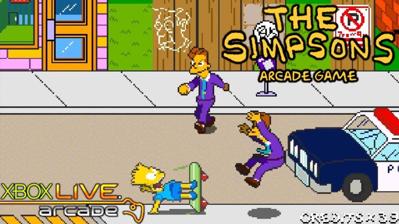 The Simpsons Arcade Game Xbox 360 Xbla Gameplay 2012 Youtube