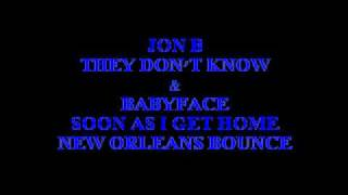 JON B - THEY DON