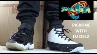Air Jordan 9 VS 11 Sneaker #Pickone Space jam Battle Edition #MONSTARSBACK