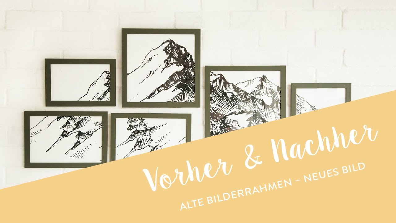 Alte Bilderrahmen – neues Bild | WESTWING Style-Tipps - YouTube