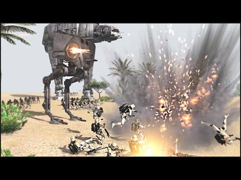 GALACTIC CIVIL WAR FIELD BATTLE  Star Wars: Galaxy at War Mod Gameplay