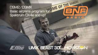 umx beast 3d bnf basic with as3x technology by e flite mp4