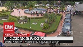 Kepanikan Saat Gempa 6,1 SR Mengguncang Jakarta & Sekitarnya