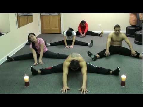 Buddha's Split Flexibility Training - Zen Martial Arts