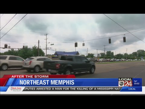 Severe Weather Causes Power Outages Across Mid-South