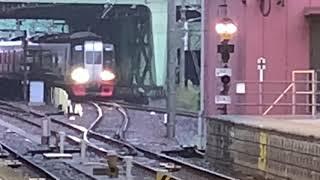 【電笛入線!】2200系2207F特急中部国際空港行き金山駅入線