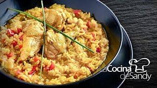Como hacer Arroz con Pollo receta de cocina rapida y comida facil