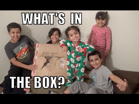 WHAT'S IN THE BOX??!!