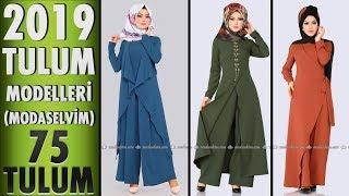 ModaSelvim Tesettür Tulum Modelleri 2019 (75 #TULUM) | #Hijab #Jumpsuit | #modaselvim #tesettür