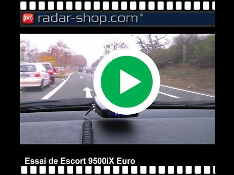detecteur de radar escort 9500ix euro en essai youtube. Black Bedroom Furniture Sets. Home Design Ideas