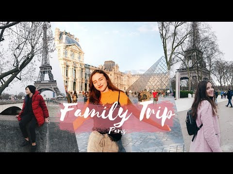 FAMILY TRIP EM PARIS - 1º VOO DOS MEUS IRMÃOS