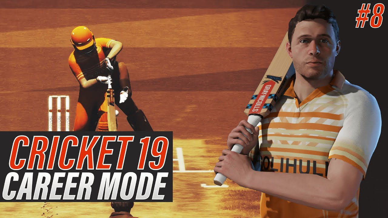CRICKET 19 - ENGLISH BATSMAN CAREER MODE - EPISODE #8 - THE KNOCKOUT CUP FINAL