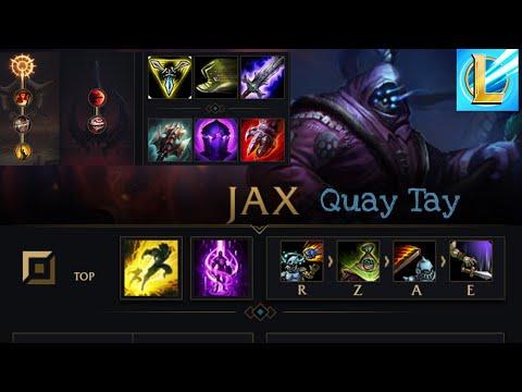 Trải nghiệm Jax đường trên trong Lmht Tốc chiến - league of legends mobile - Đa Đa DC GAMES