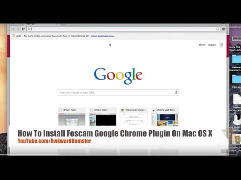 How To Install Foscam Google Chrome Plugin - YouTube