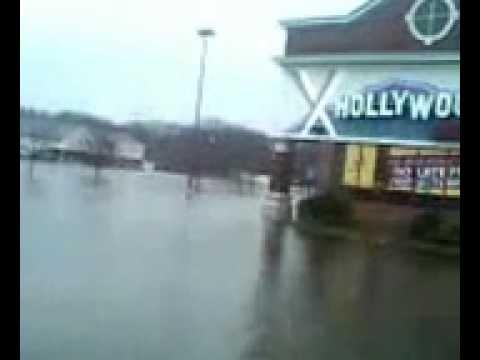 Shaws in Cranston, R.I. Flood March 2010