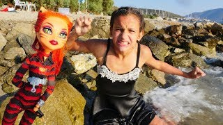 Monster High oyuncakları. Toralei Stripe ile video