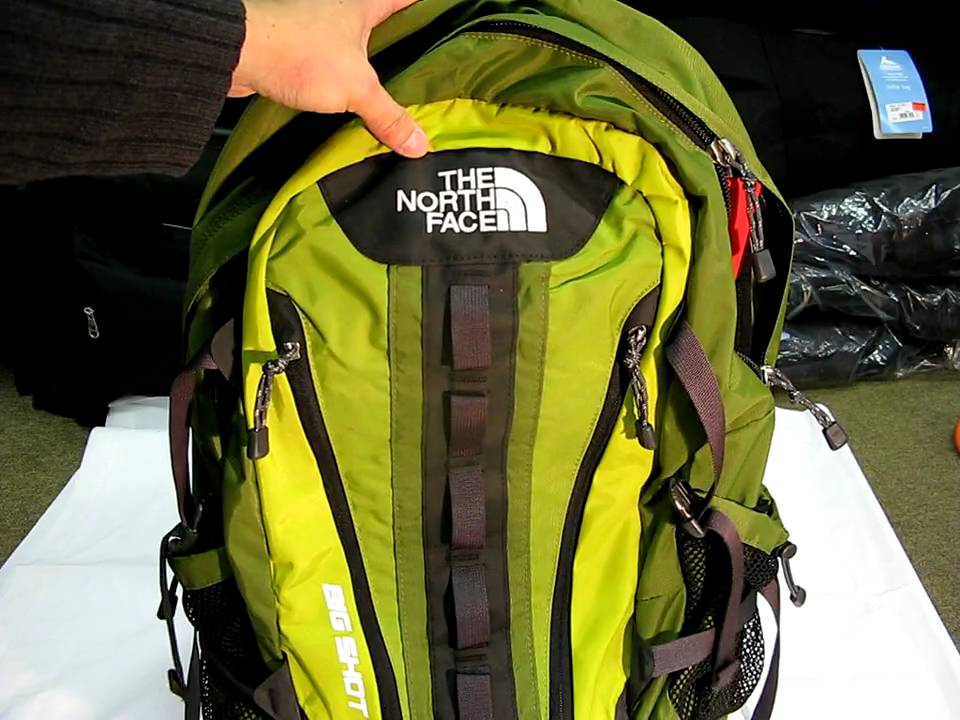North Face Big Shot Backpack Review Youtube