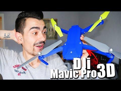 UN DRONE DJi MAVIC PRO IMPRIMÉ EN 3D !