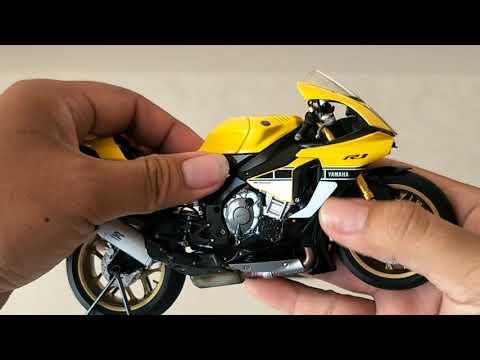 Review Tamiya Yamaha R1M Aniversary 60th Skala 1:12