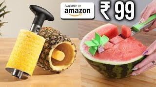 TOP 10 USEFUL KITCHEN GADGETS You Can Buy on Amazon 2019 | Gadgets Under Rs100, Rs200, Rs500, Rs1000