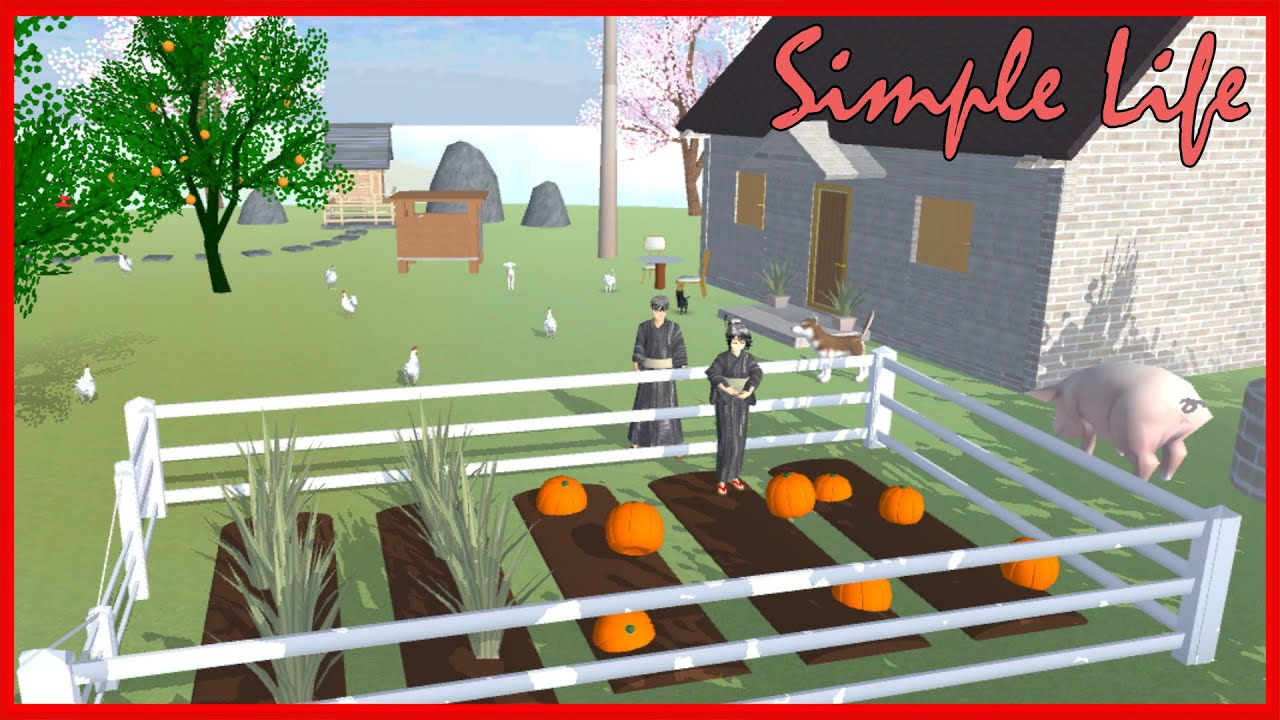 Simple life is a happy life || SAKURA School Simulator