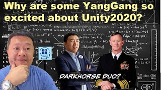 A panel of #YangGang debate and discuss Darkhorse Duo, Unity 2020, Yang McRaven Plan.