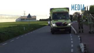 Ernstig ongeval met fietser Achterdijk Vierpolders