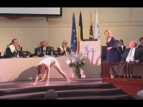 Ridiculous performance at Ghent University [Belgium]