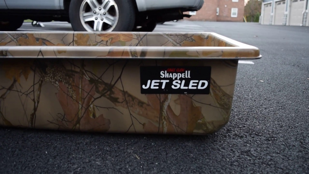 SHAPPELL JET SLED CAMO WITH CUSTOM BUILT HITCH FOR OUR HONDA RANCHER PT  2