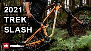 2021 Trek Slash: Now With Snack Storage | First Look & Ride