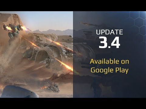 War Robots update 3.4 available on Google Play!