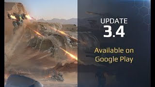 connectYoutube - War Robots update 3.4 available on Google Play!