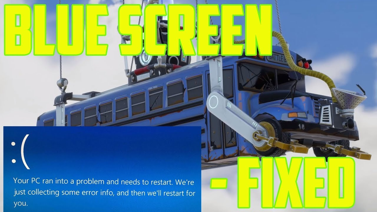 Fortnite Blue Screen Fix - After V5 - BSOD PC