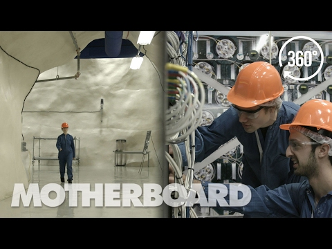 Exploring An Underground Dark Matter Lab in 360°