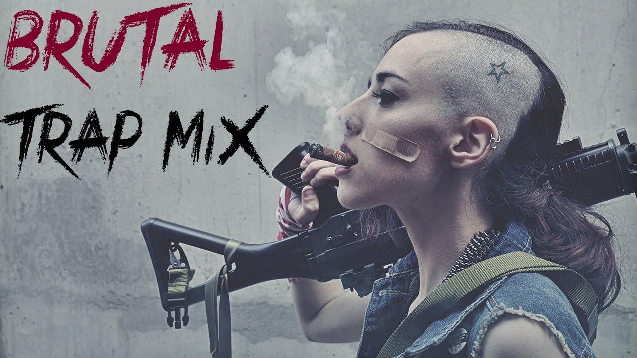 Girl Gun Desktop Wallpaper Best Hard Trap Music Mix 2015 Brutal Monsterwolf Mixes