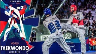 Gambar cover [Roma 2019 World Taekwondo Grand-Prix] M-68kg Final - LEE Dae-Hoon(KOR) vs HOSSEINI Mirhashem(IRI)