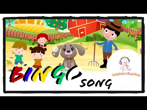Bingo Nursery Rhymes Lyrics 2018 - Sing Along Song for Children, Kids and Toddlers