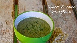 Mushroom & Spinach Soup