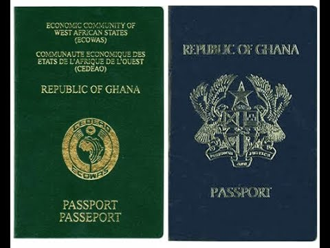 Get Your Ghana Online Passport Here !!! Fellow The Steps To Fill Your Forms