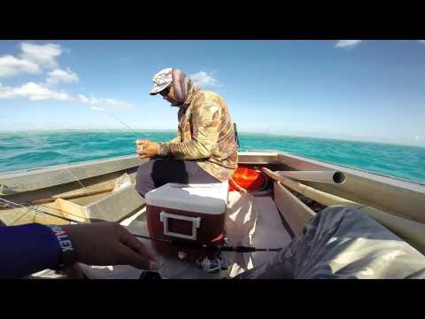 Cocos Keeling Islands- Bait fishing