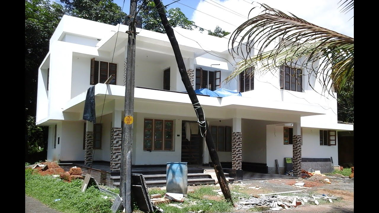 2500 Sq Ft 4 Bedroom House At Cochin Kerala For Sale