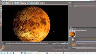Cinema 4D | Creating The Solar System | Venus Cloud+No Cloud