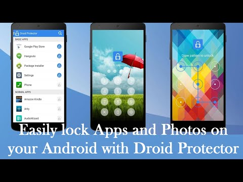Droid Protector Locks Apps, Hides Photos All in One App