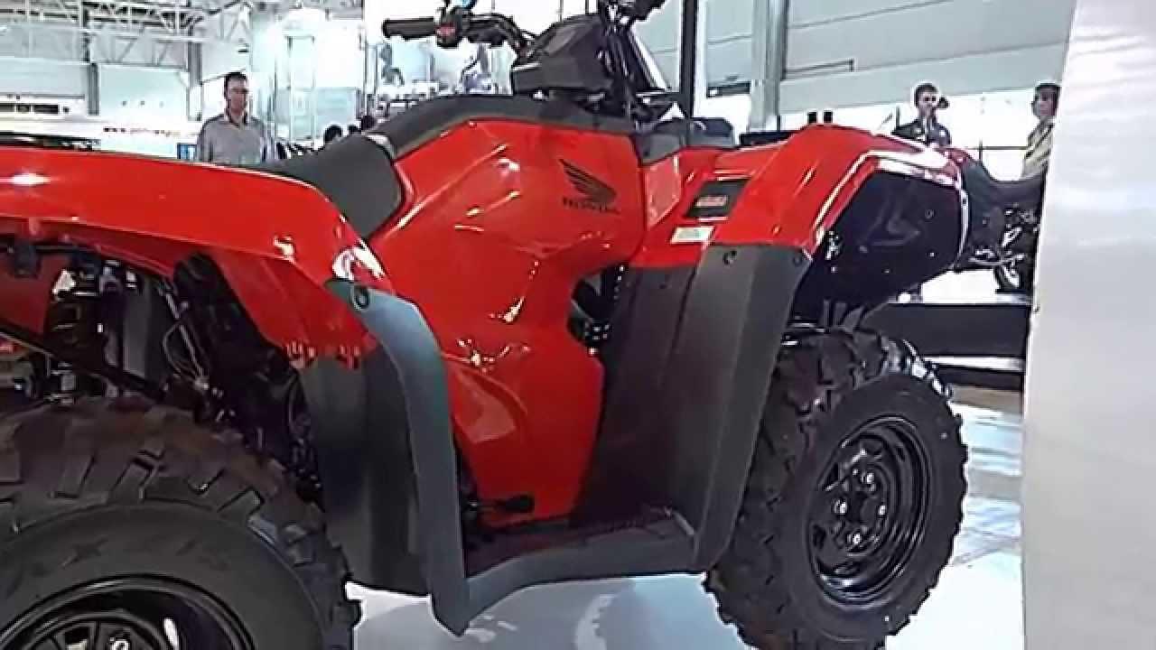Bms 2014 Honda Trx 420 Fourtrax 4x4 26 9 Cv 3 4 Mkgf Brasil Motorcycle Show Youtube