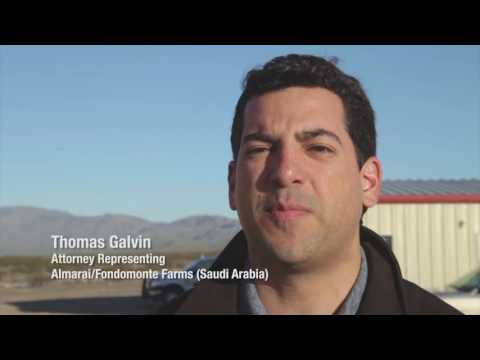 Water Issues/Saudi-Arabian Farming in Arizona