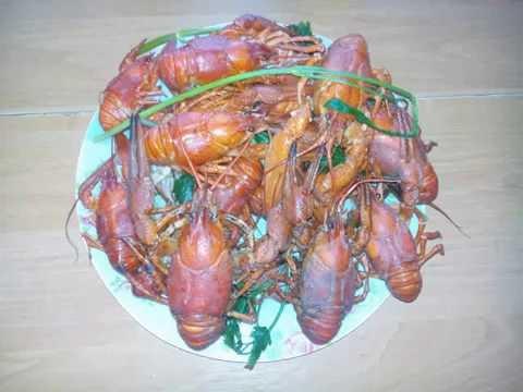 Ловля раков на раколовки летом, испытание бюджетной приманки, fishing, catching crabs, fish bait