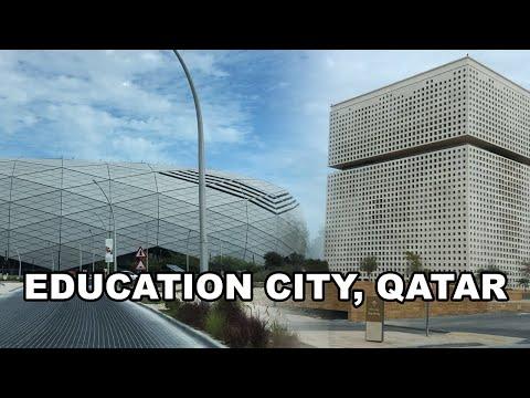 Education City, Qatar - Drive around campuses