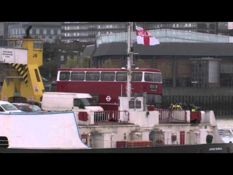 Visions' MD60 Tour on the Woolwich Ferry