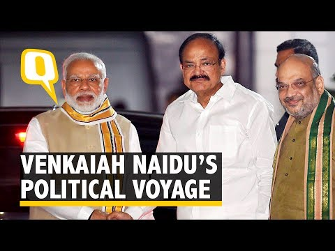 Venkaiah Naidu's Climb from BJP Youth Wing Leader to VP Nominee - The Quint
