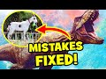 6 Jurassic MOVIE MISTAKES FIXED In Jurassic World 2 Fallen Kingdom